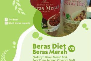 beras diet atau beras merah