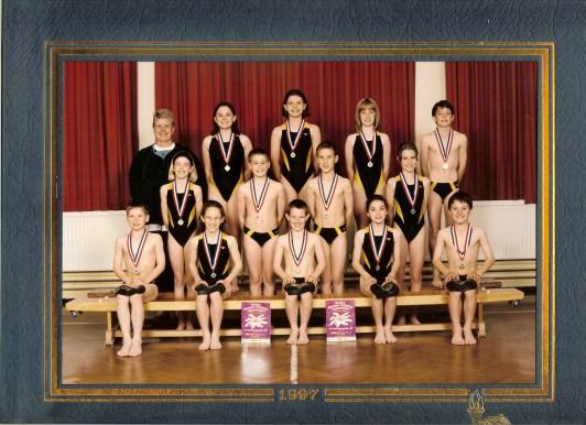 In the swim team-1997