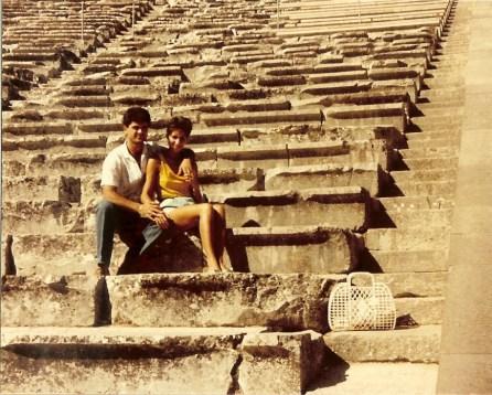 Ma and Pa Epidavros Theatre 1985