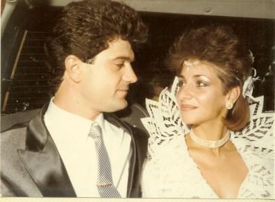 Wedding day 1985