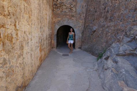 The entrance to Spinalonga
