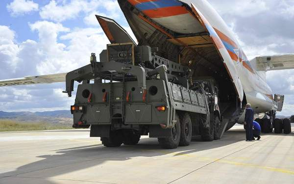 Delivery of S-400 system parts to continue in coming days ...