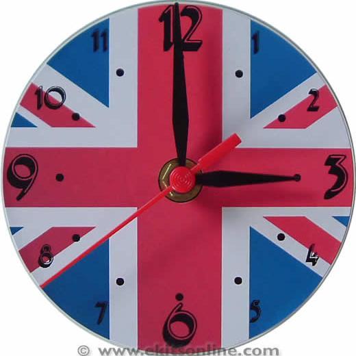 UK Flag Clock