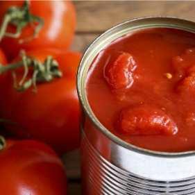 Conserves et tomatés