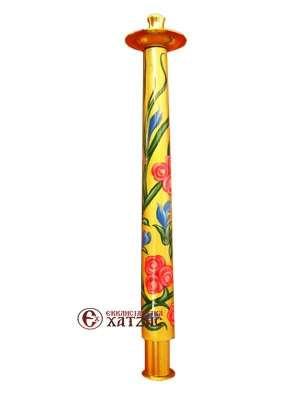 Γεντέκι Αγιογραφημένο Λουλούδι