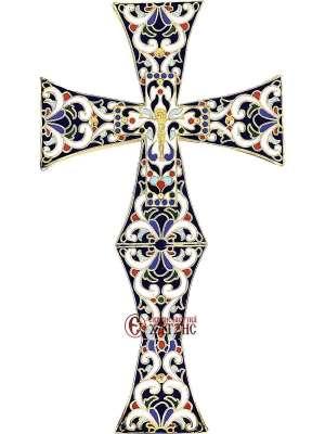 Σταυρός Ευλογίας Σμάλτο 70-645