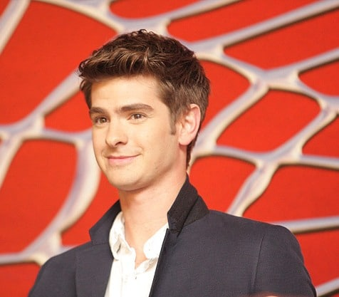 Andrew Garfield Spiderman 01 Andrew Garfield sera le nouveau  Spider Man