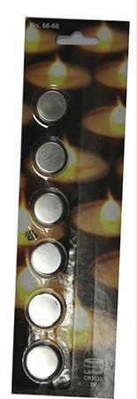 Batteri Lithium CR2032 3V 6-pack