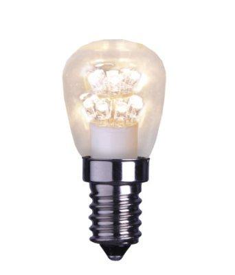 Päronlampa LED 0,7W Varmvit 2100K