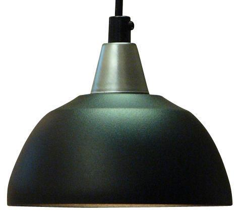 Fönsterlampa Maj Svart Struktur. 15cm. Eklunds Metall