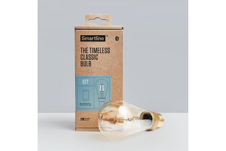 Timeless Classic Bulb E27 Edison Blåtand