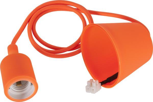 Sladdställ E27 Color Orange
