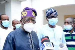JUST-IN: Tinubu Blasts Ambode, Says Lagos Collapsing Before Sanwolu-Olu's Election