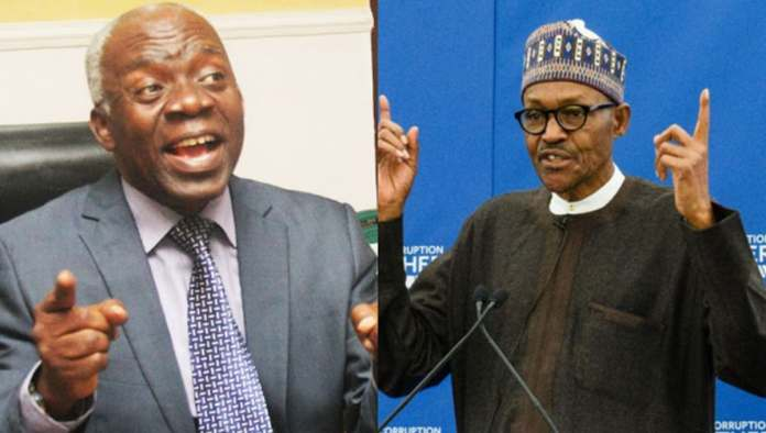 Falana Demands Buhari's Removal, Cites Constitutional Grounds For Impeachment