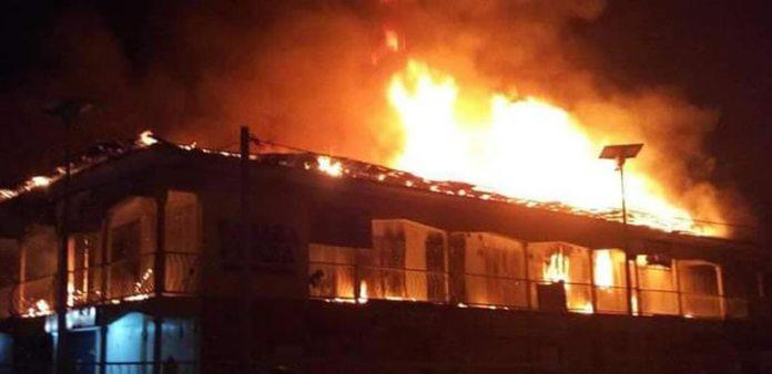 Goods, Shops Destroyed As Fire Ravages Popular Kwara Market