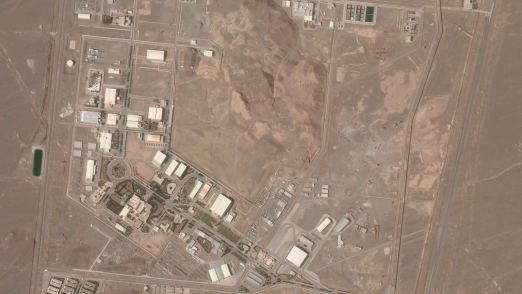 Iran identifies suspect behind blast at Natanz nuclear site