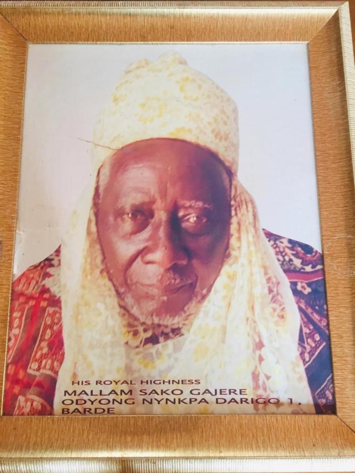 Late Darigo 1 of Barde Chiefdom