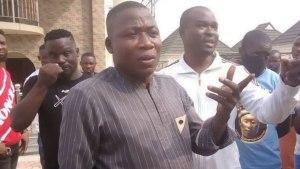 Sunday Igboho, Nobody Dare Face Federal Might, Surrender Yourself- Yoruba Monarch Tells Igboho