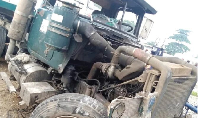 Eight Feared Dead As Truck Rams Into Motorcycles In Lagos