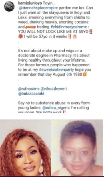 Kemi Olunloyo Gives Slay Queens Valuable Advice