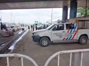 PHOTOS: Police Seal Off Gani Fawehinmi Park Over Planned Yoruba Nation Rally In Lagos