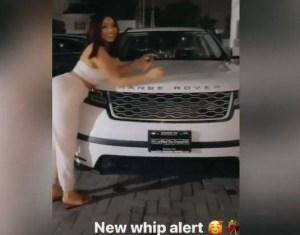 Former BBNaija Housemate Nengi Acquires A Range Rover
