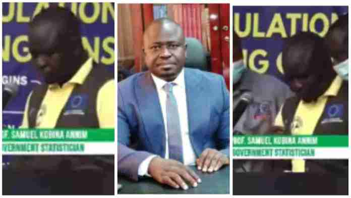 Head Of Ghana Statistical Service Suffers Stroke On Live TV [VIDEO]
