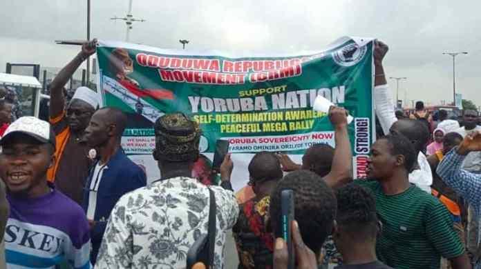 Ibadan, BREAKING: Yoruba Nation Agitators To Protest Over Sunday Igboho's Arrest, Yoruba Nation