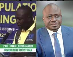Watch As Head Of Ghana Statistical Service Suffers Stroke On Live TV