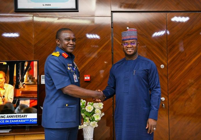 You Are Exceptional in Leading Your People, COAS to Gov. Yahaya Bello; Promises Collaboration in Fighting Insecurity