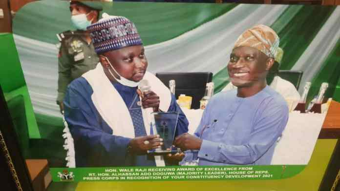 House Of Reps Press Corps Honours Wale Raji With Excellence Award