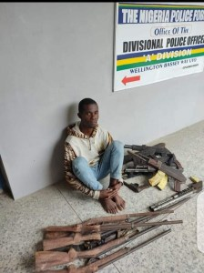 Police Arrest Man Who Makes Locally Made Guns For Criminals