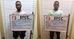 JUST IN: Nigerian Footballer, One Other Jailed For Internet Fraud (Photo)