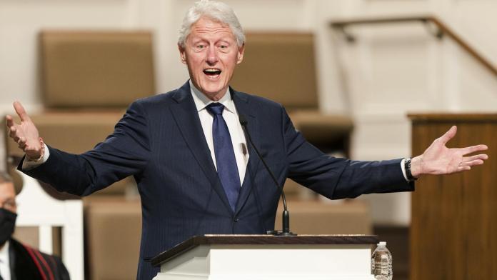 Former President Bill Clinton hospitalized