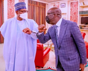 Full Details Of President Buhari Meeting With Governor Obaseki