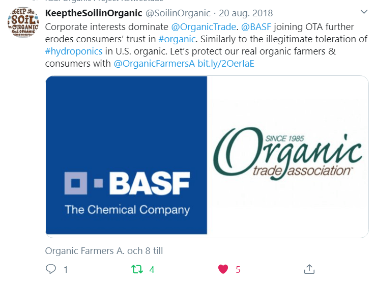 Keep the Soil Organic