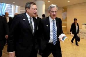 Draghi e Powell, i protagonisti della settimana