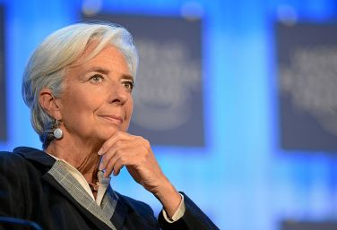 Christine Lagarde, président du FMI