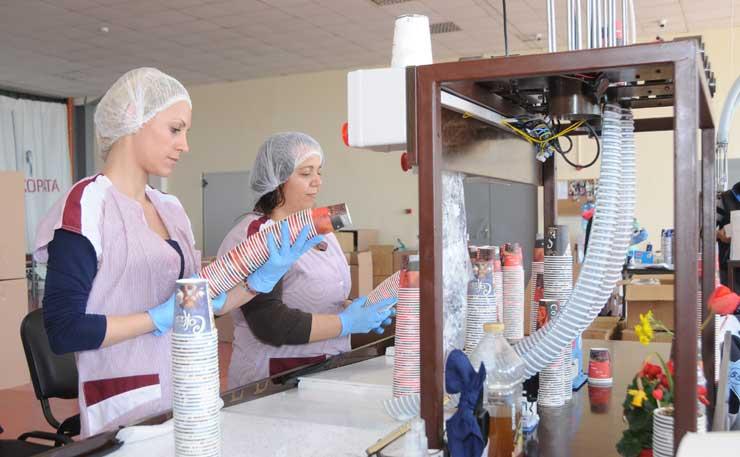 производител на картонени чаши за вендинг автомати