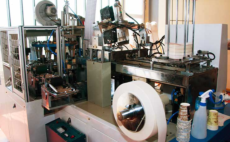 Производство на хартиени чаши