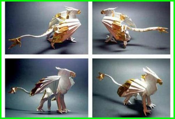 gambar karya seni origami, gambar origami binatang, gambar anyaman origami, gambar origami elang, gambar kertas lipat origami, gambar macam macam lipatan origami, gambar menempel origami