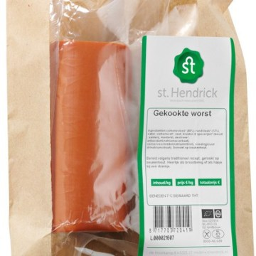 Biologische vleeswaren kopen zoals gekookte worst