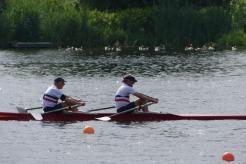 MM2x I Uwe und Jogi (Georg) 3. Platz von 5 Booten