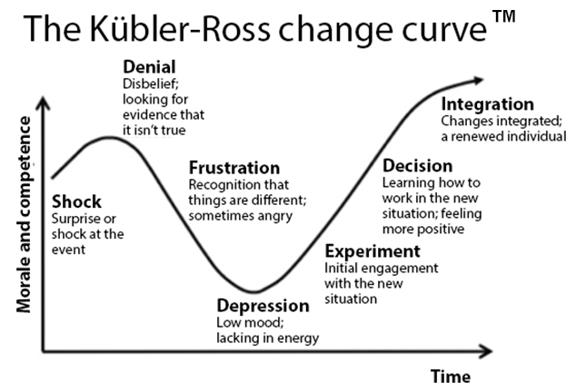 Kübler-Ross Change Curve™