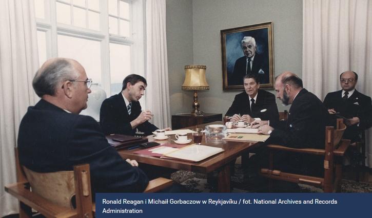 Reagan i Gorbaczow