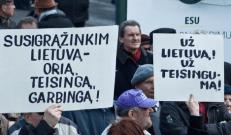 Dėl ko nors protestuojantys Lietuvos pensininkai dažniausia siejami su Kremliumi.