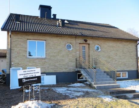 Här monteras Ekstrands Energieffektiva fönster! :)