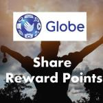 Transfer/Share Globe reward points