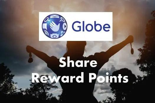Transfer/Share Globe rewards points