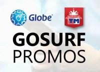 Globe Gosurf Promo Offers 2020: Register, Free WiFi, Extend, Add-ons